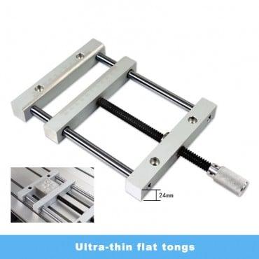 Ultra-thin flat tongs