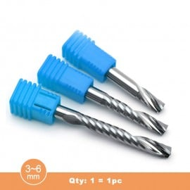 DRM 3~6mm single blades spiral tool (Qty:1=1 piece)