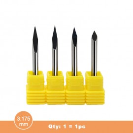 H3N (3.175mm) Precision grinding trigonous tool (Qty:1=1pc)