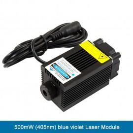 500mW (405nm) blue violet Laser Module