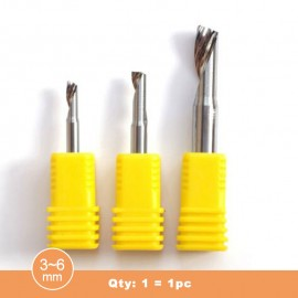 (AAA) LDR Single blade end mill for aluminum alloy (Qty:1=1pc)